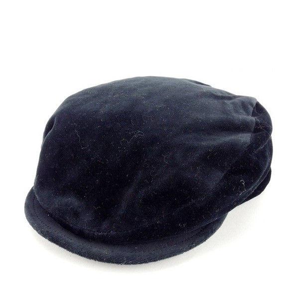 【中古】 【送料無料】 ドルチェ&ガッバーナ ハンチング帽 帽子 レディース ブラック Dolce & Gabbana Y4577 .