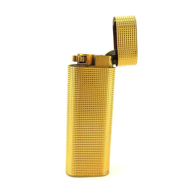 【中古】 【送料無料】 カルティエ ライター メンズ可 ゴールド ゴールドメタル Cartier D1618 .