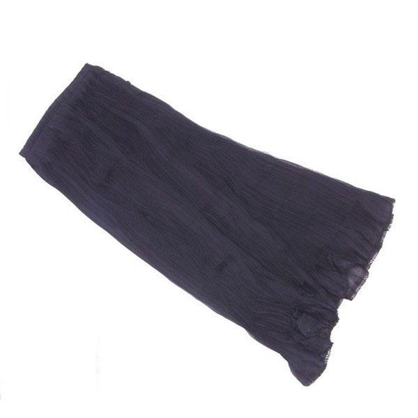 【中古】 イッセイミヤケ ISSEY MIYAKE スカート フレアー ロング レディース ♯Sサイズ ブラック L2106