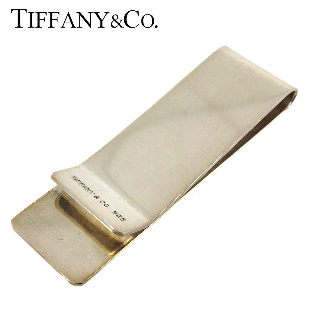 【中古】 ティファニー マネークリップ メンズ シルバー シルバー925 Tiffany&Co. L2921 .