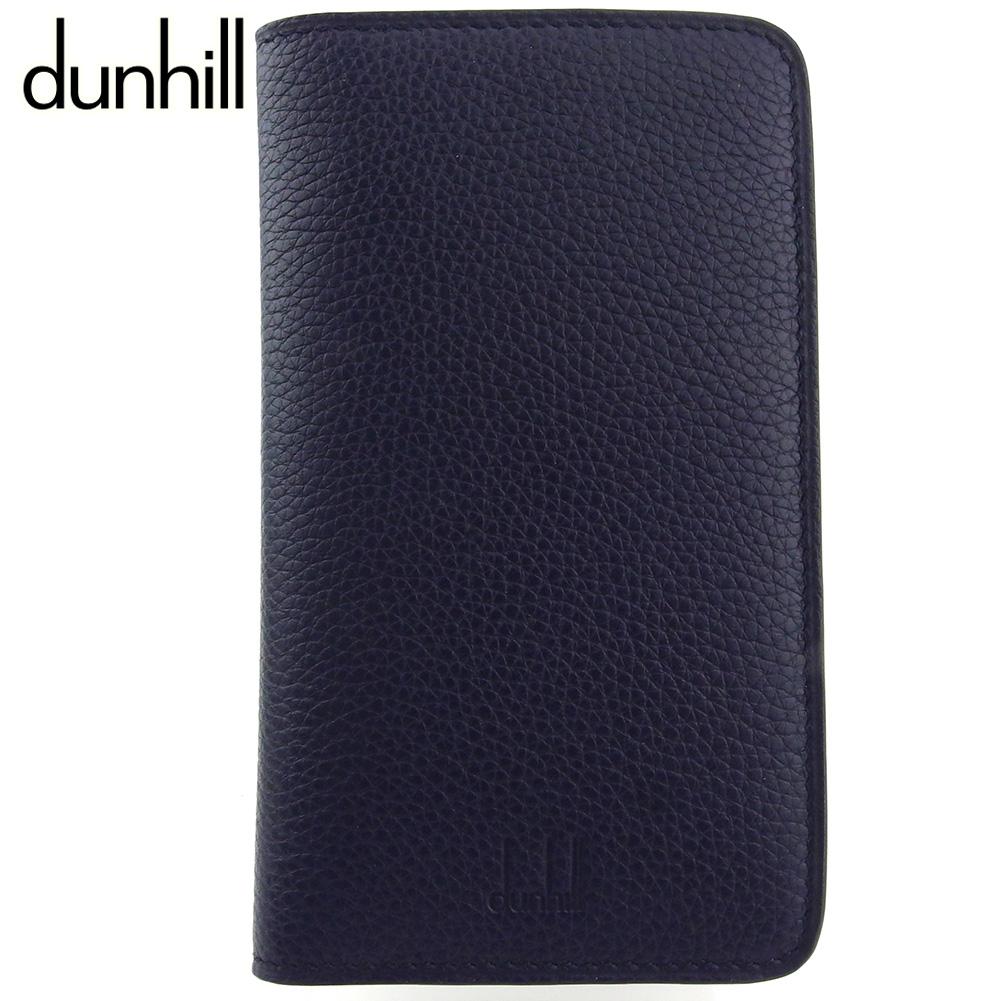 気質アップ 【】 ダンヒル iPhoneケース アイフォンケース メンズ ボストン IPHONE7 ウォレット ロゴ ネイビー カーフレザー×ゴム dunhill P979, 稲田布帛 db0d7f6c