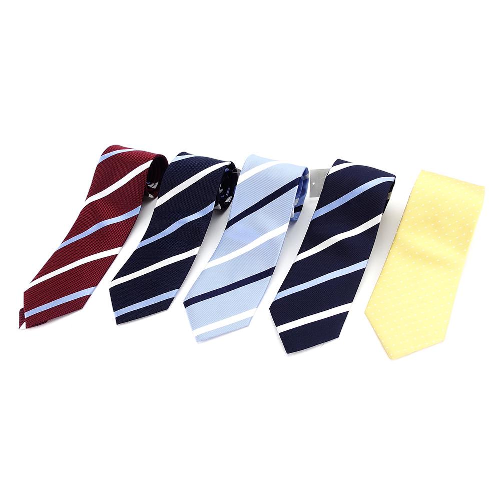 【中古】 アザブ ザ カスタムシャツ AZABU THE CUSTOM SHIRT ネクタイ 5本セット メンズ P559