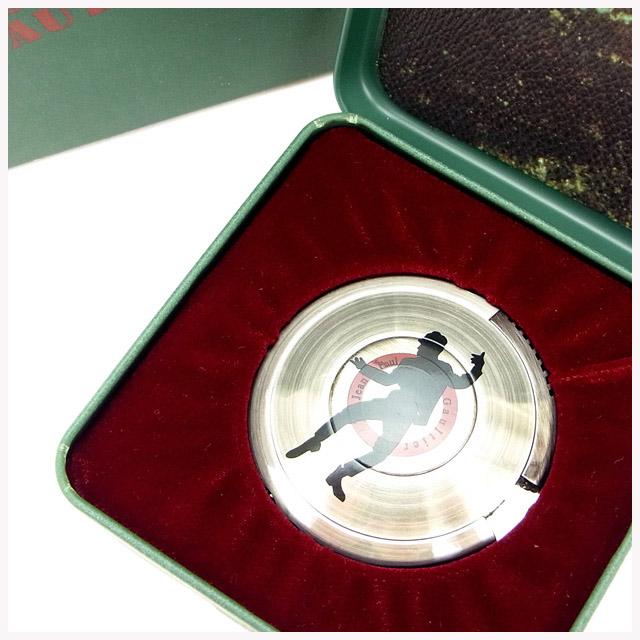 【中古】 【送料無料】 ジャンポール・ゴルチェ ライター レディース BBシルエット(男) UFOライター シルバー Jean Paul Gaultier Y534 .