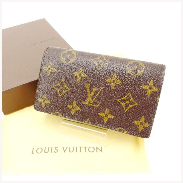 【中古】 【送料無料】 ルイヴィトン Louis Vuitton L字ファスナー財布 /メンズ可 /ポルトモネ・ビエトレゾール モノグラム M61736 PVC×レザー (あす楽対応) Y1902