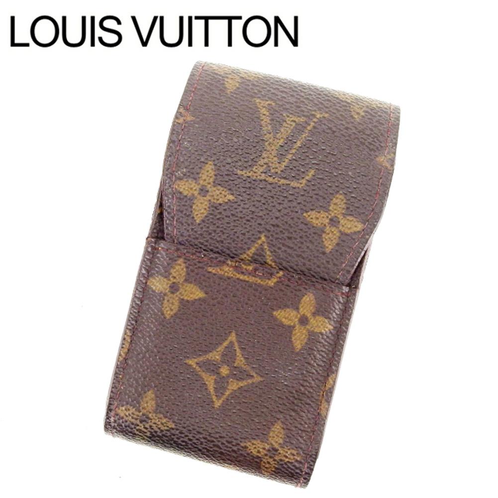 【中古】 【送料無料】 ルイヴィトン シガレットケース レディース モノグラム Louis Vuitton Y4055 .