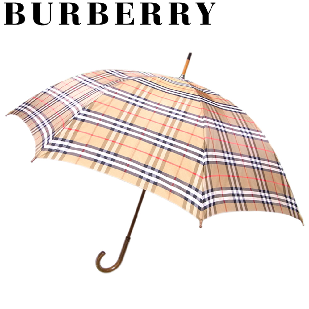 dd844ea2f Use of Burberry BURBERRY umbrella shade umbrella umbrella Lady's men carbon  bone Novacek beige black red ...