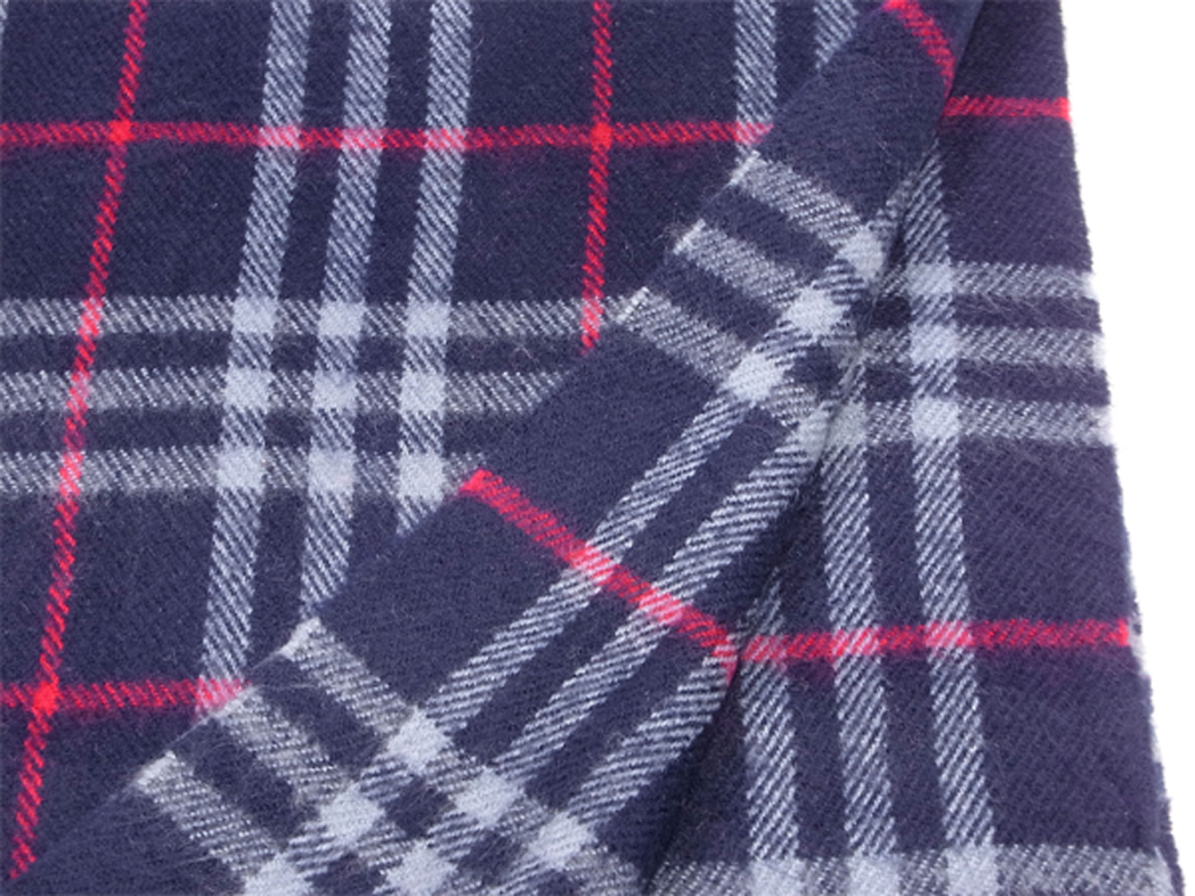 da279cdd4da83 ... Lady's men check navy-blue red wool hair popularity sale T9968 with the Burberry  BURBERRY ...