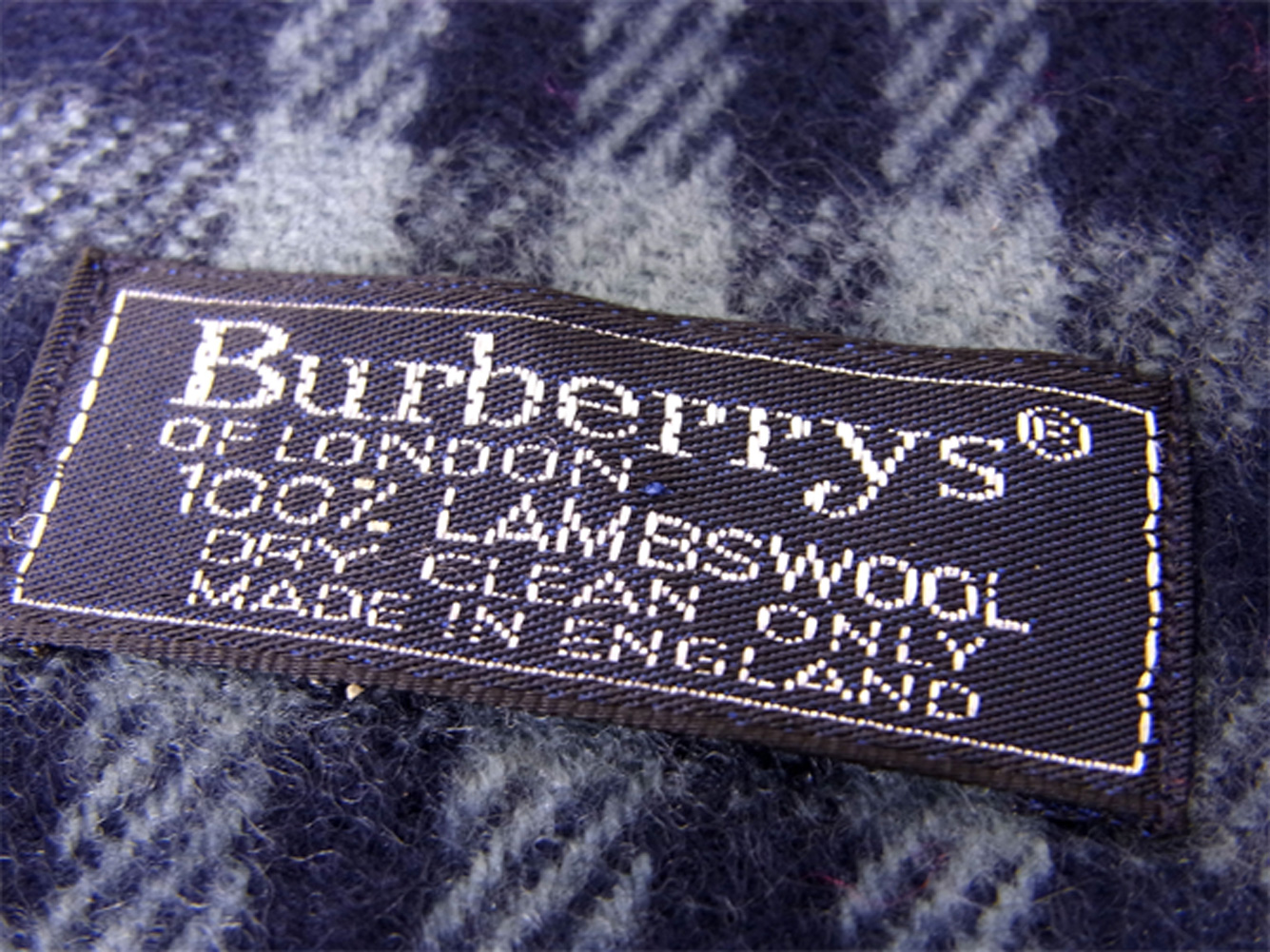 230dd9142b906 ... Lady's men check navy-blue red wool hair popularity sale T9984 with the Burberry  BURBERRY