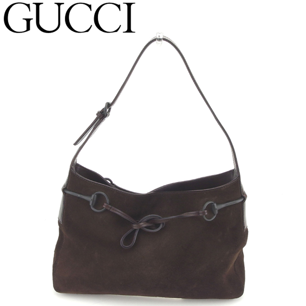 best authentic 9fed0 9734d 最新コレックション 【中古】 グッチ GUCCI ショルダーバッグ ...