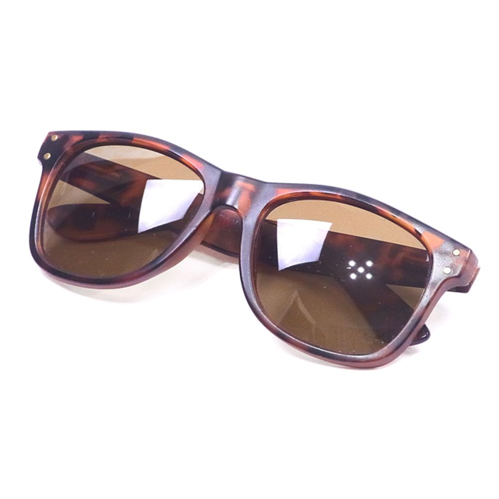 0af3902c633d Local supply LOCAL SUPPLY sunglasses glasses eyewear lady's men's full rim  tortoiseshell pattern brown gold plastic popularity sale T16392.