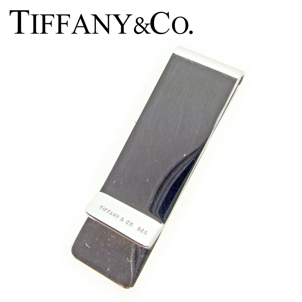 【中古】 ティファニー Tiffany&Co. マネークリップ 札留め レディース メンズ  シルバー シルバー925 人気 セール P776