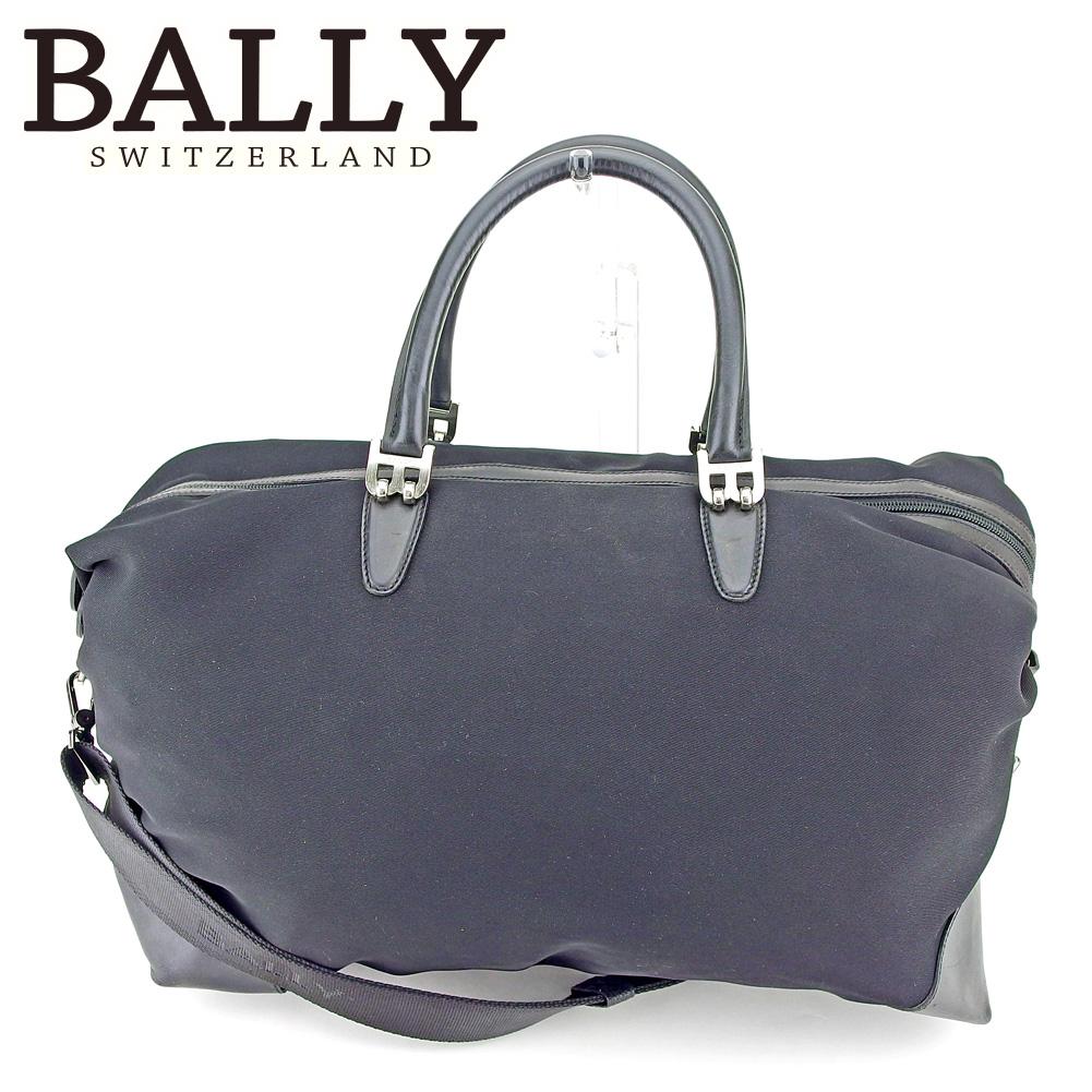 5b528af53286 【中古】 バリー BALLY ボストンバッグ トラベルバッグ 旅行用バッグ レディース メンズ 2WAY ショルダー