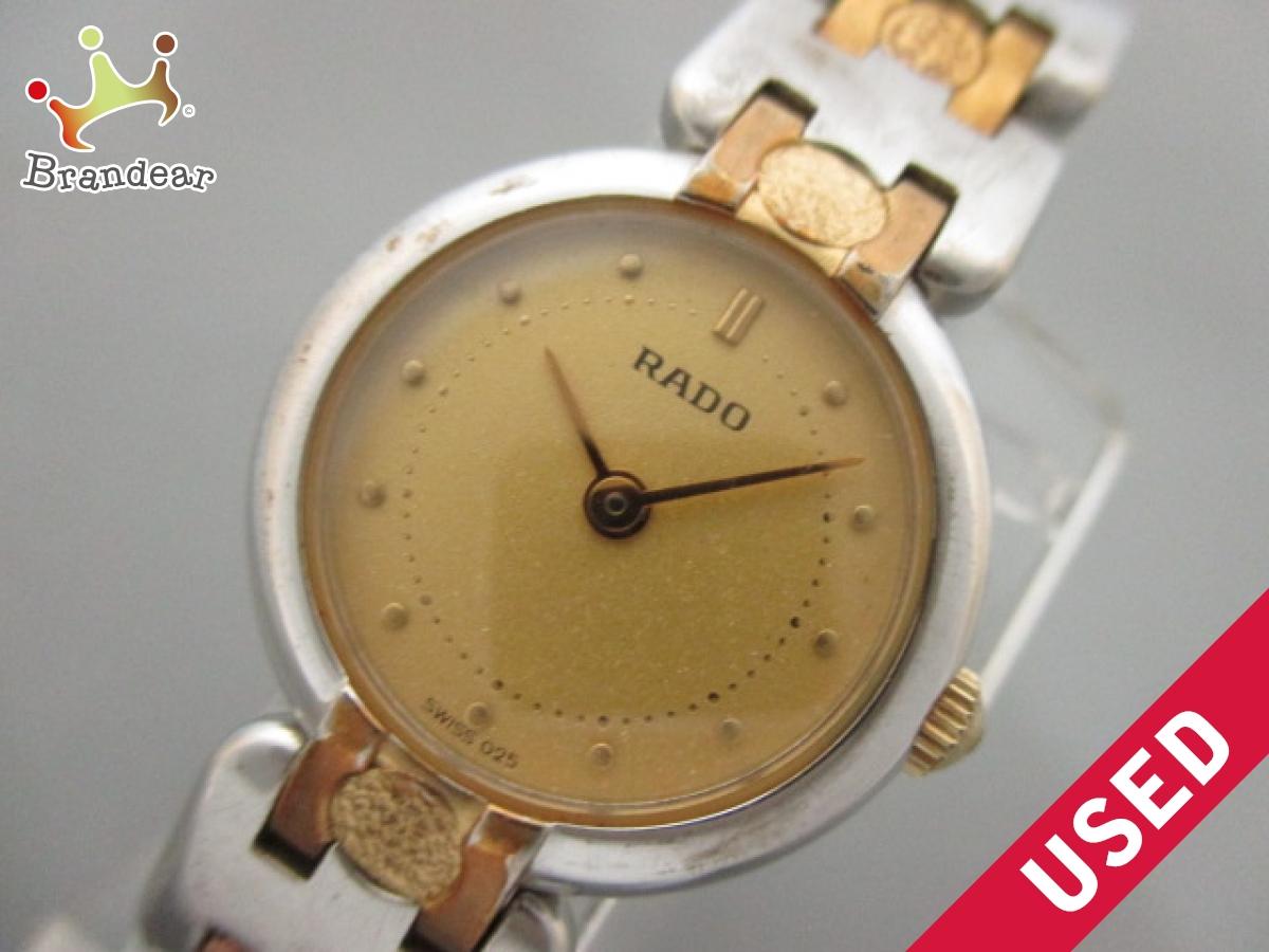 RADO(ラドー) 腕時計 153.3569.2 レディース ゴールド【中古】