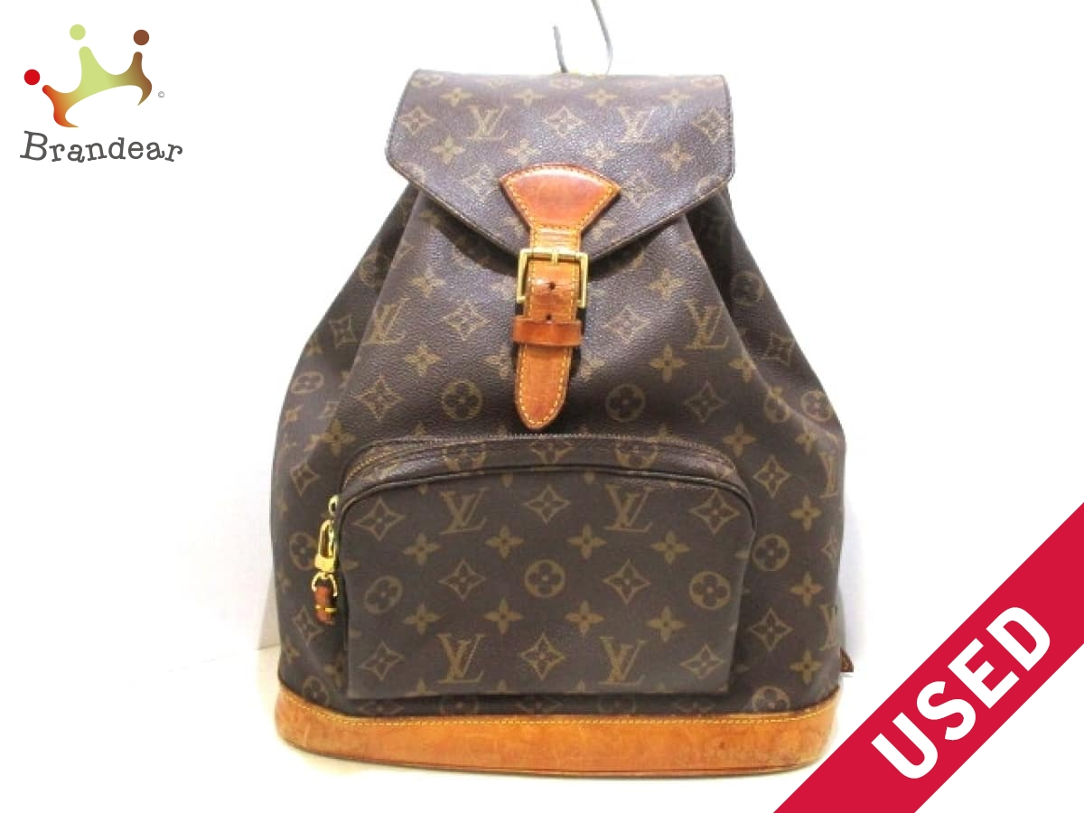 389f0ca00fc6 LOUIS VUITTON(ルイヴィトン) リュックサック モノグラム モンスリGM M51135 モノグラム・キャンバス【中古】,  KUOPIO:0ea79cac --- barg.af