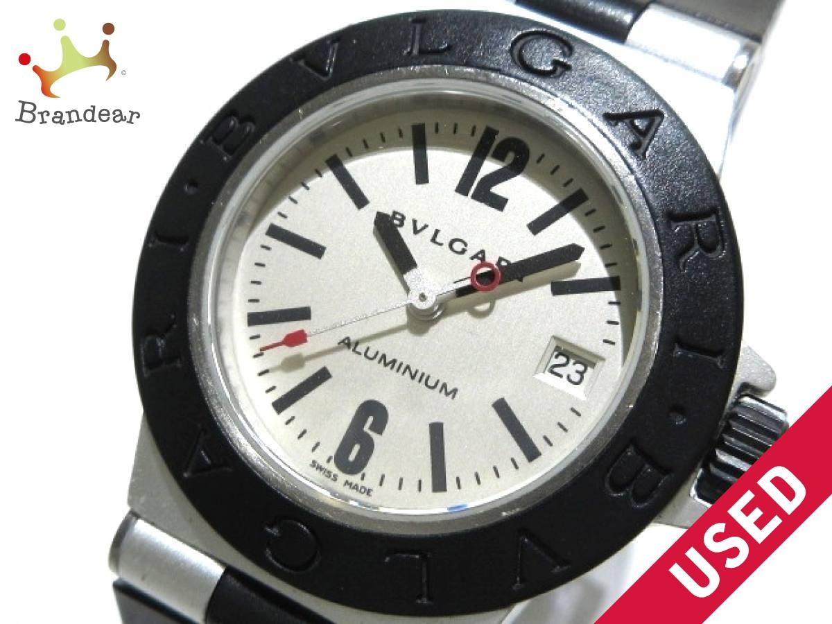 BVLGARI(ブルガリ) 腕時計 アルミニウム AL29TA レディース アイボリー【中古】