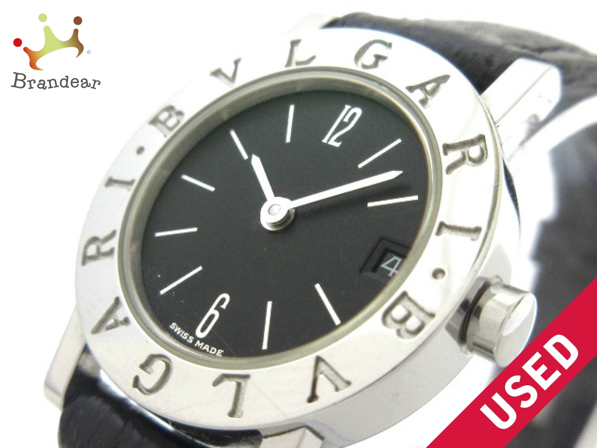 BVLGARI(ブルガリ) 腕時計 ブルガリブルガリ BB23SLD レディース 黒【中古】