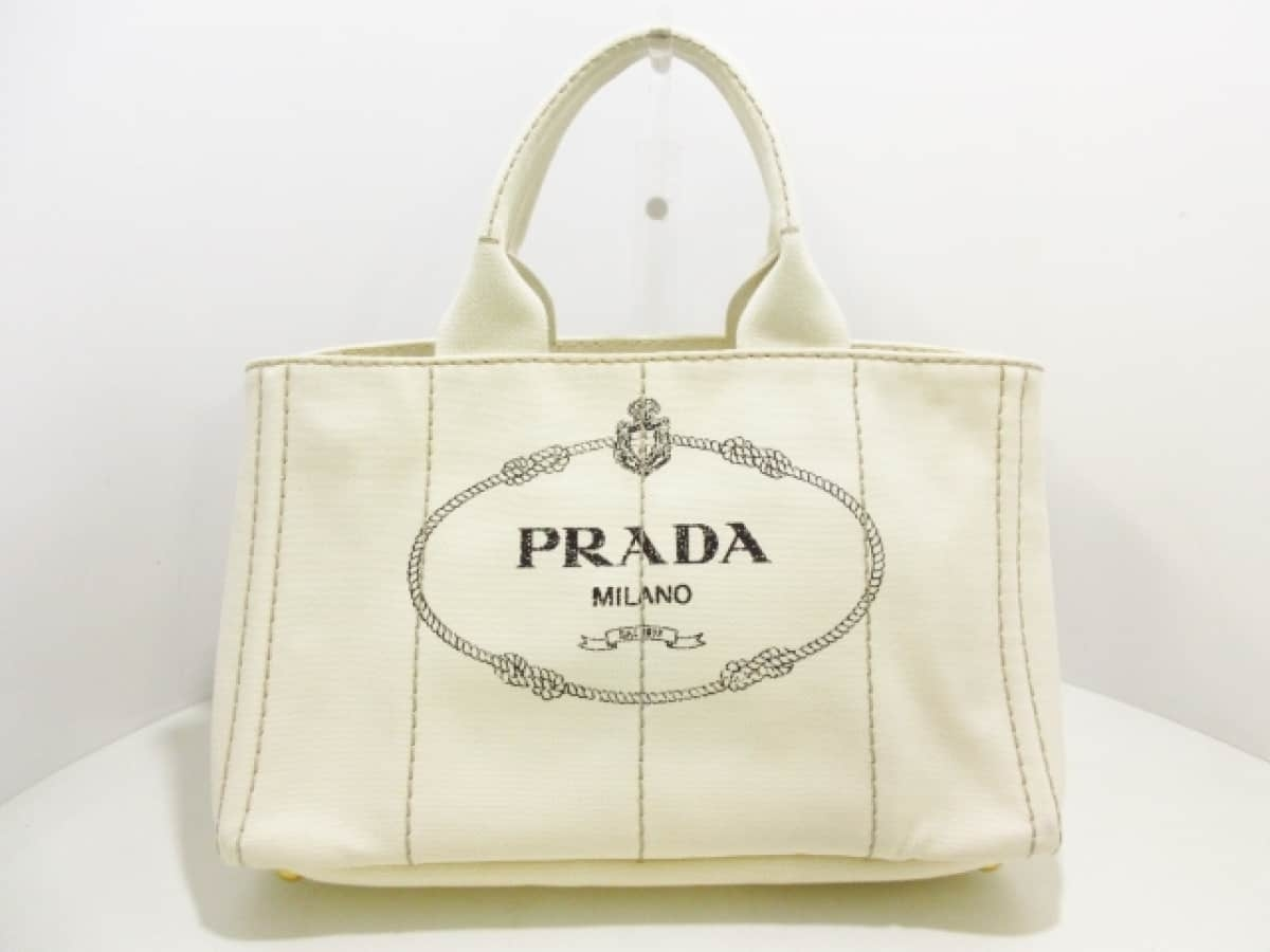 detailed look 62ac4 34bee お得な特別割引価格) PRADA(プラダ) トートバッグ CANAPA ...