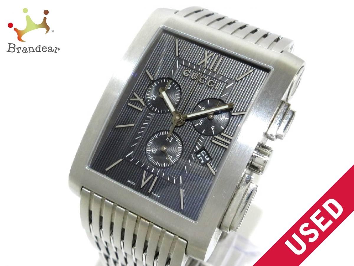 GUCCI(グッチ) 腕時計 Gメトロ 8600M メンズ 黒【中古】