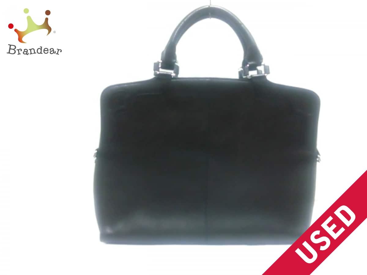 Cartier(カルティエ) ビジネスバッグ - 黒 レザー【中古】
