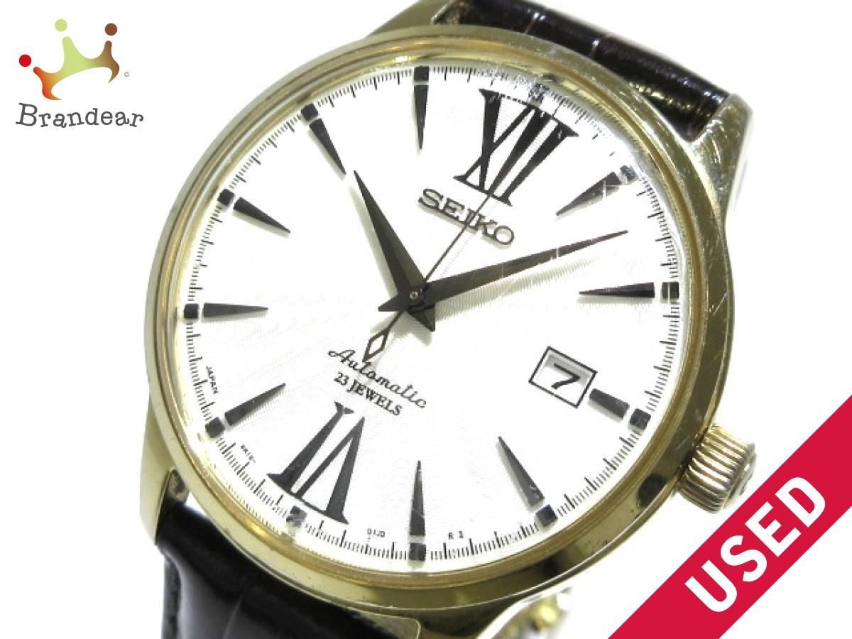 SEIKO(セイコー) 腕時計 6R15-01T0 メンズ アイボリー【中古】