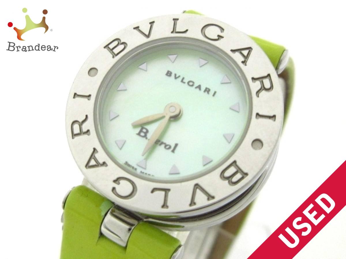 BVLGARI(ブルガリ) 腕時計 B-zero1 BZ22S レディース ライトグリーン【中古】