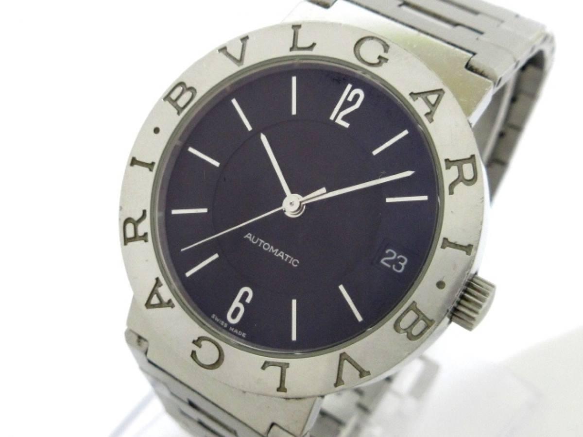 BVLGARI(ブルガリ) 腕時計 ブルガリブルガリ BB33SS メンズ 黒【中古】