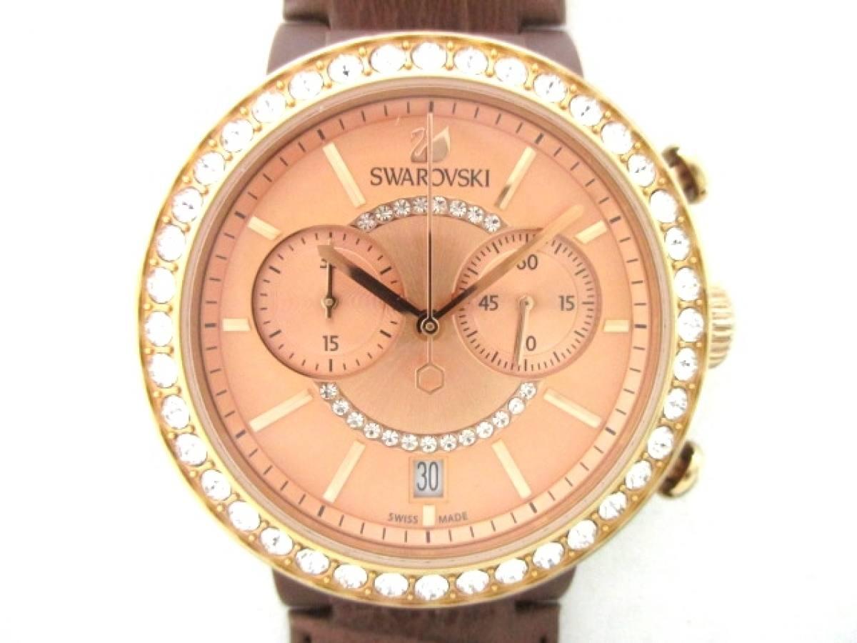SWAROVSKI(スワロフスキー) 腕時計 シトラ - レディース ライトブラウン【中古】