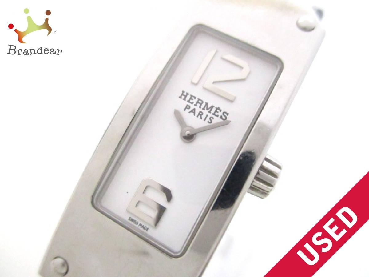 HERMES(エルメス) 腕時計美品■ ケリーII KT1.210 レディース 白【中古】