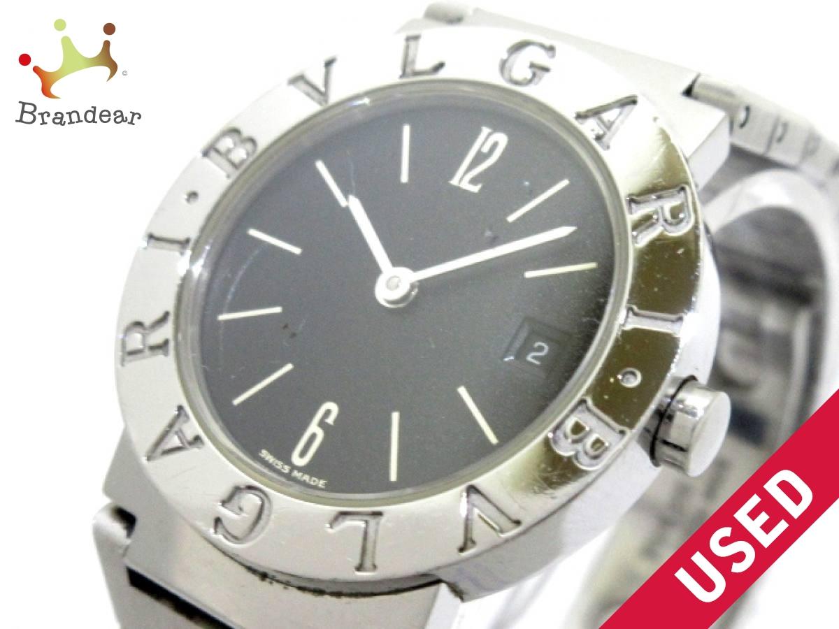 BVLGARI(ブルガリ) 腕時計 腕時計 黒【中古】 BB26SSD BB26SSD レディース 黒【中古】, 海苔の富三:0bc4f7fc --- kutter.pl