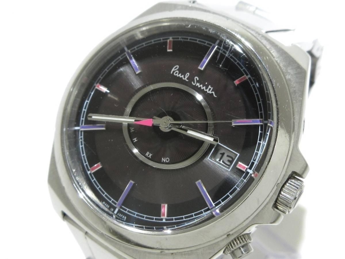 PaulSmith(ポールスミス) 腕時計 H416-T020879 メンズ 黒【中古】