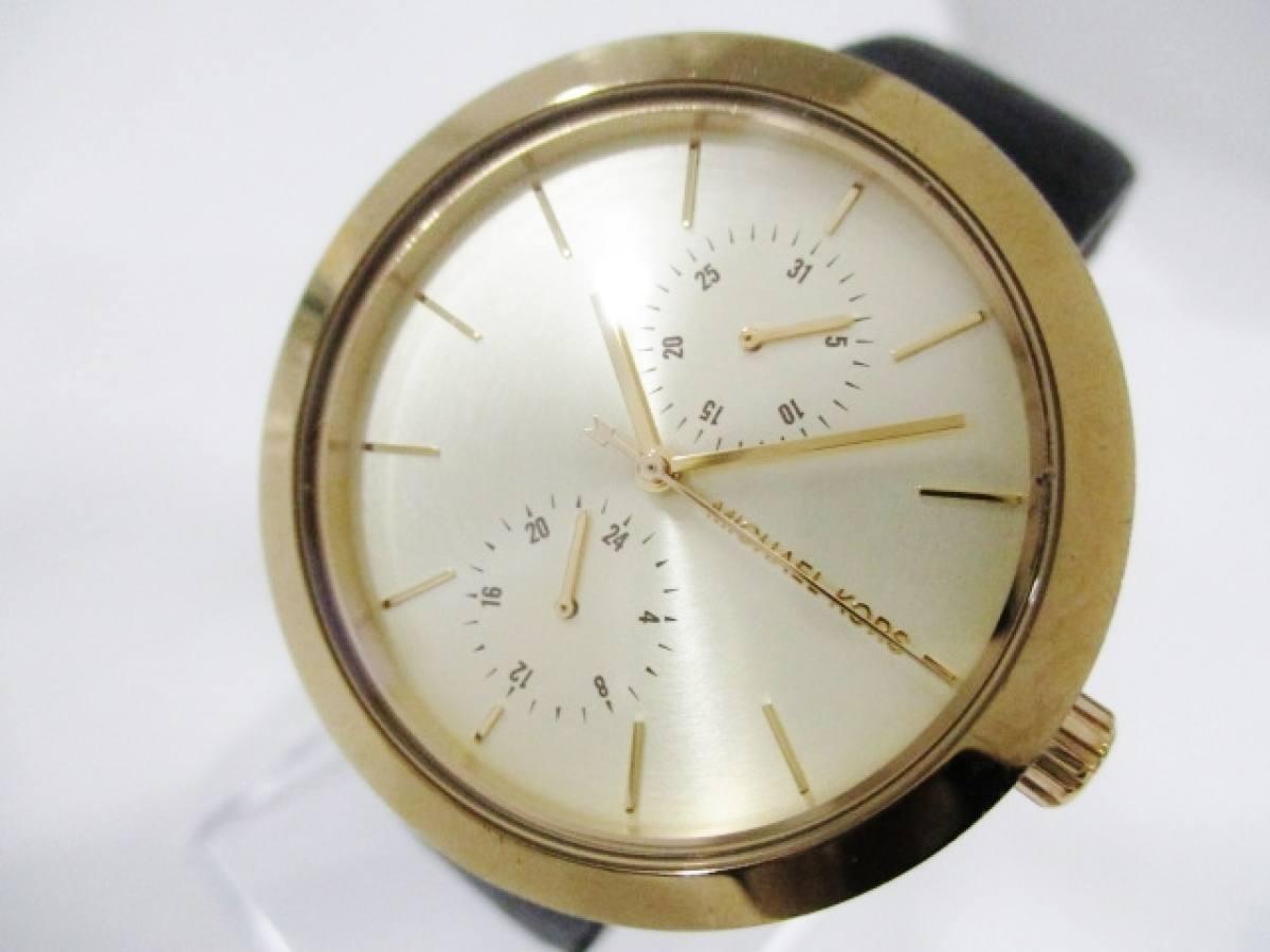 MICHAEL KORS(マイケルコース) 腕時計 MK-2574 レディース ゴールド【中古】