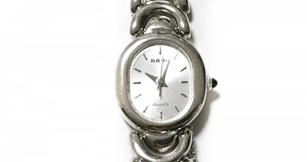 RADO(ラドー) 腕時計美品■ 205.9508.2 レディース シルバー【中古】
