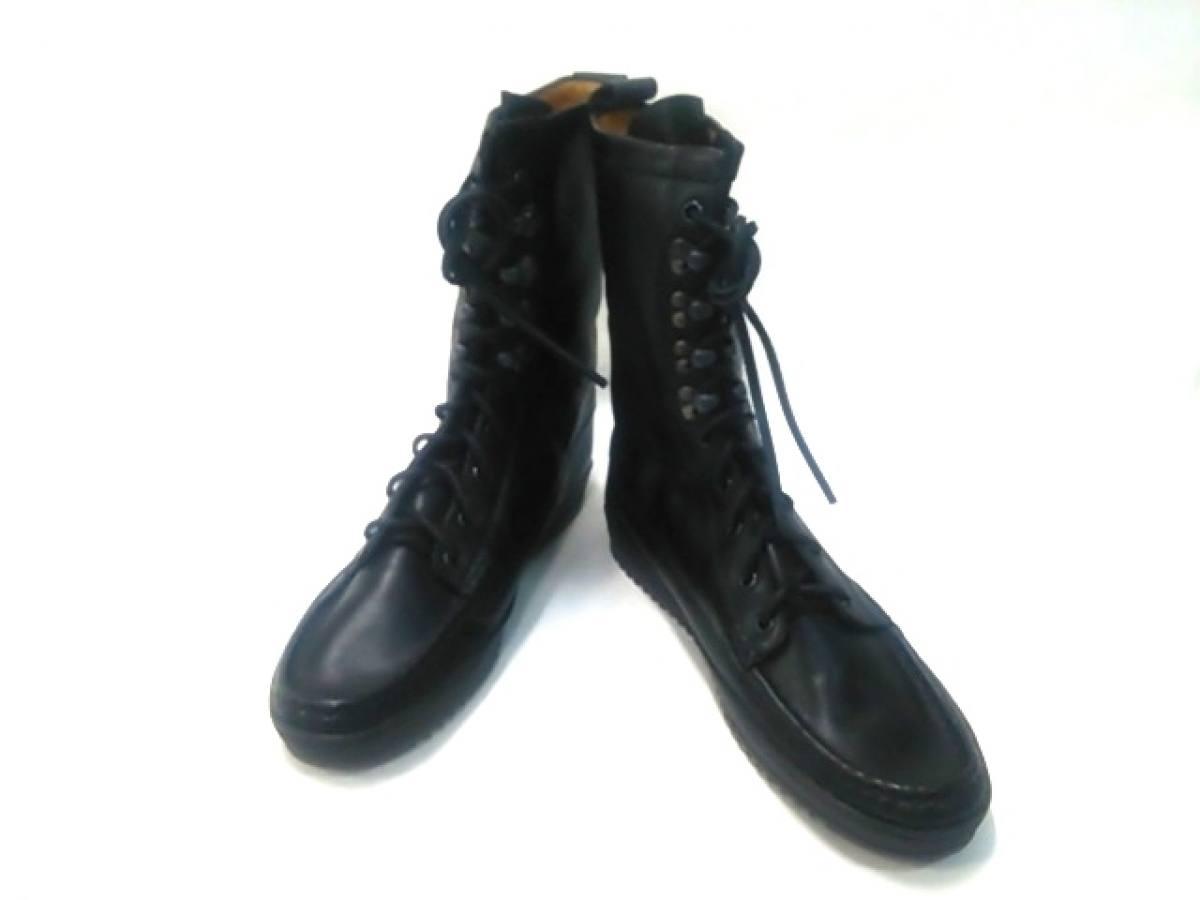 YUKETEN(ユケテン) ブーツ 9 D メンズ美品■ 黒 レザー【中古】