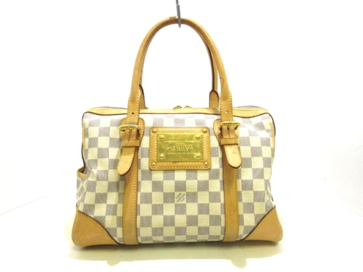 LOUIS VUITTON(ルイヴィトン) ハンドバッグ ダミエ バークレー N52001 アズール ダミエ・アズール キャンバス【中古】
