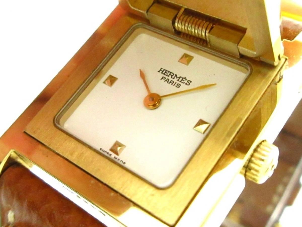 HERMES(エルメス) 腕時計 メドール 742827 レディース 白【中古】