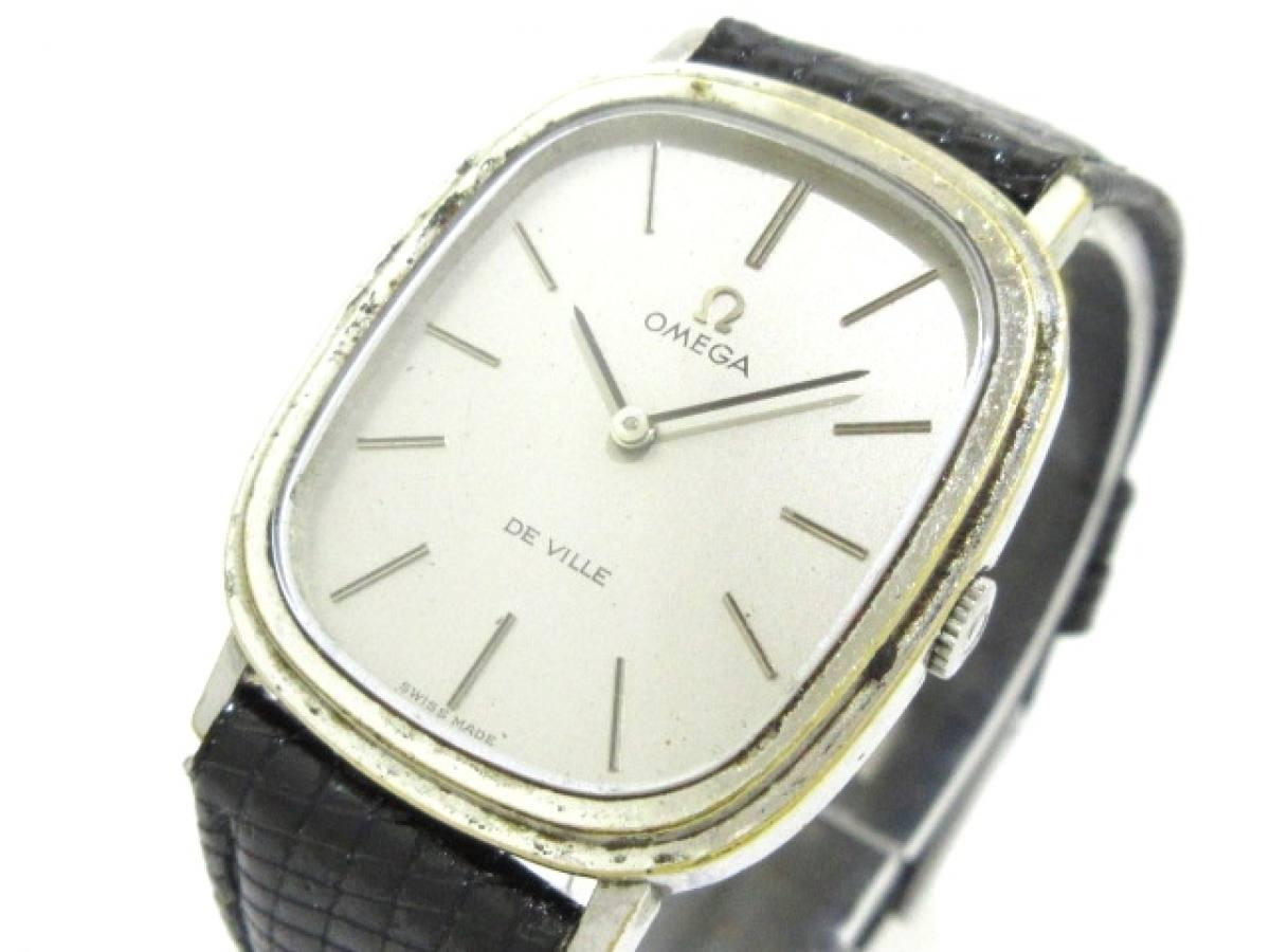 OMEGA(オメガ) 腕時計 デビル - メンズ シルバー【中古】