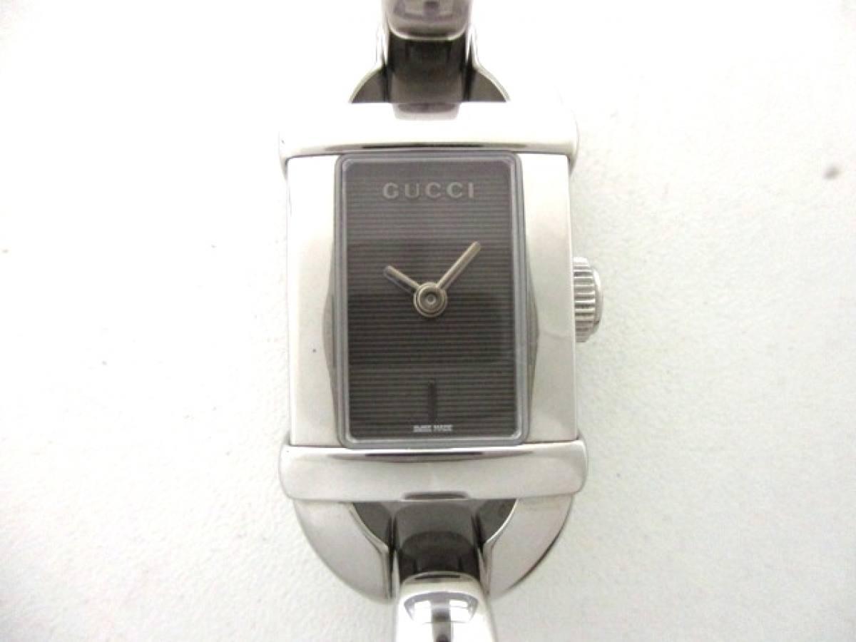 GUCCI(グッチ) 腕時計美品■ 6800L レディース 黒【中古】