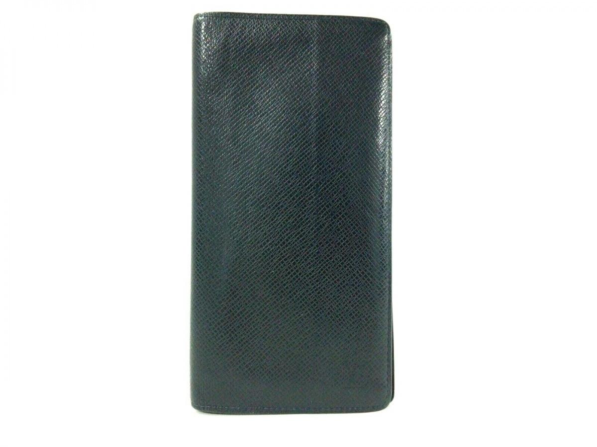 タイガ・レザー 【中古】 カードケース (LVロゴの刻印入り) ポッシュ アルドワーズ タイガ LOUIS VUITTON M30157 イニシャル刻印 (ルイヴィトン) オーガナイザー・ドゥ