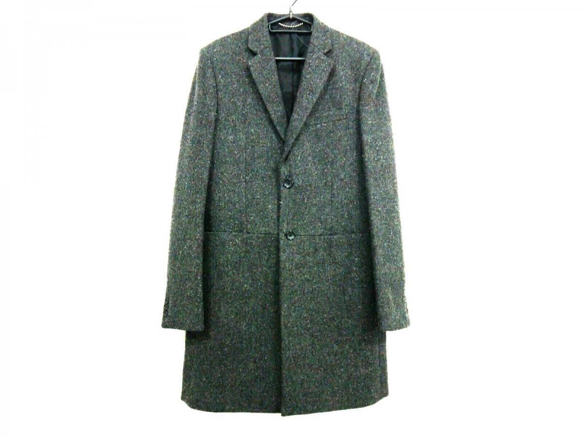 BALENCIAGA(バレンシアガ) コート サイズ48 L メンズ新品同様■ ダークグレー 2009年/冬物【中古】