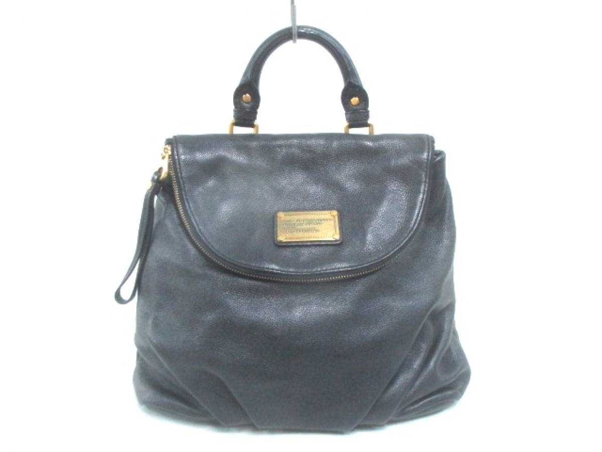 MARC BY MARC JACOBS(マークバイマークジェイコブス) リュックサック - 黒 レザー【中古】