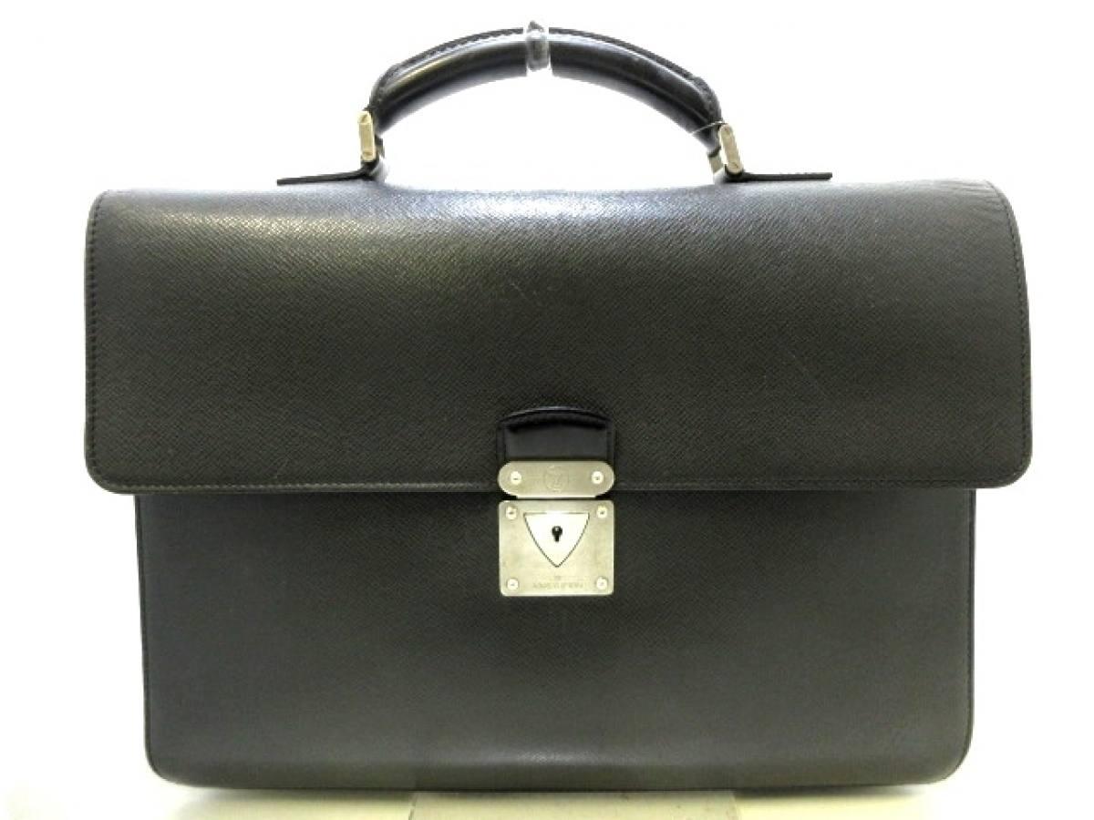 LOUIS VUITTON(ルイヴィトン) ビジネスバッグ タイガ ロブスト1 M31052 アルドワーズ レザー(LVロゴの刻印入り)【中古】