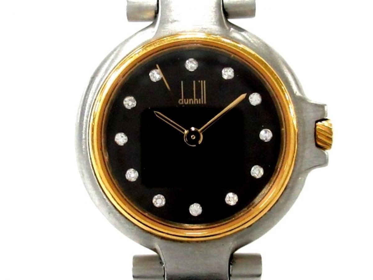 dunhill/ALFREDDUNHILL(ダンヒル) 腕時計 - レディース 黒【中古】
