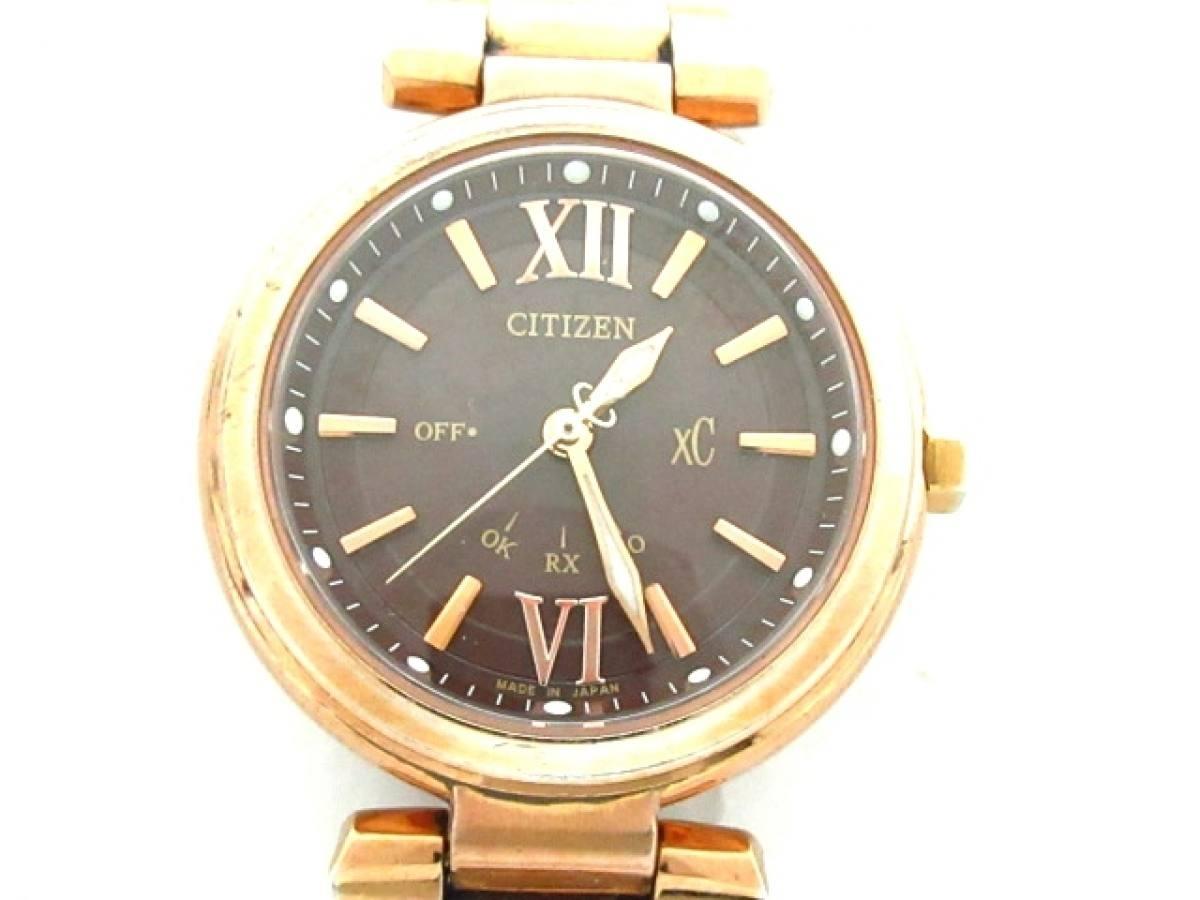 CITIZEN(シチズン) 腕時計 XC H335-T012353 レディース ダークブラウン【中古】