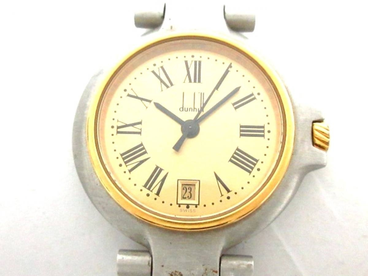 dunhill/ALFREDDUNHILL(ダンヒル) 腕時計 ミレニアム - レディース ゴールド【中古】