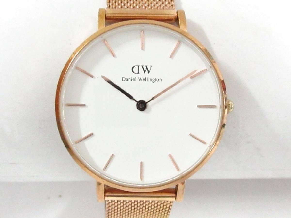 Daniel Wellington(ダニエルウェリントン) 腕時計 B32R1 レディース 白【中古】