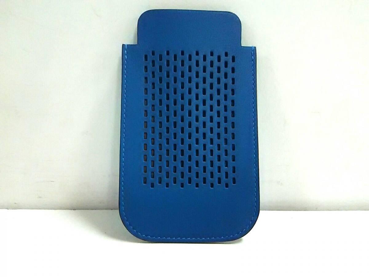 HERMES(エルメス) 携帯電話ケース美品■ - ブルー ヴォースイフト【中古】