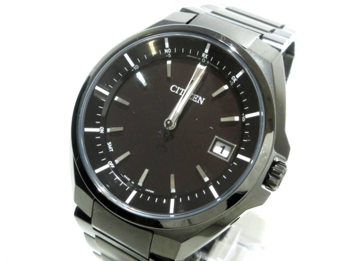 CITIZEN(シチズン) 腕時計 アテッサ H128-R007971 メンズ 黒【中古】