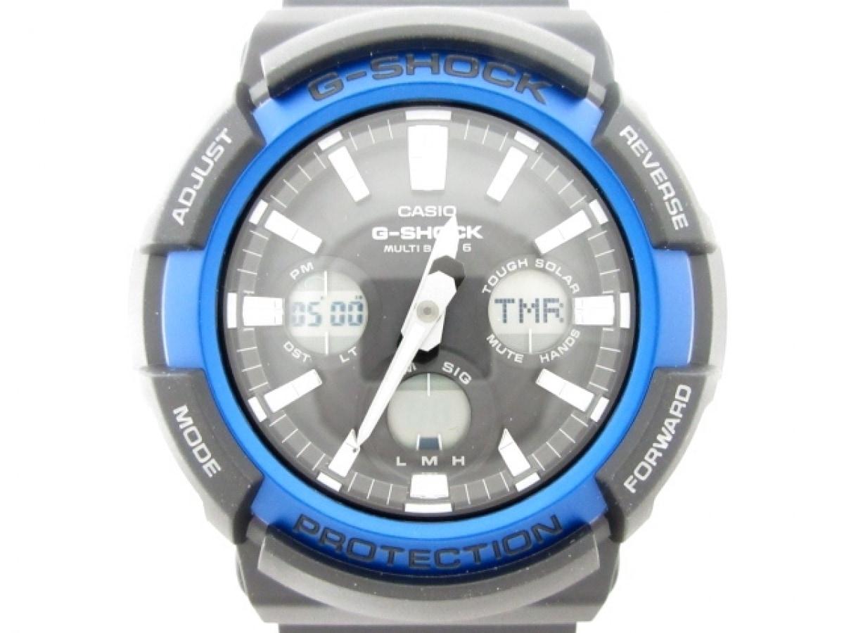 CASIO(カシオ) 腕時計美品■ G-SHOCK GAW-100B メンズ 黒【中古】