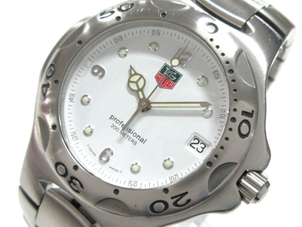 TAG Heuer(タグホイヤー) 腕時計 プロフェッショナル WL1110 メンズ 白【中古】