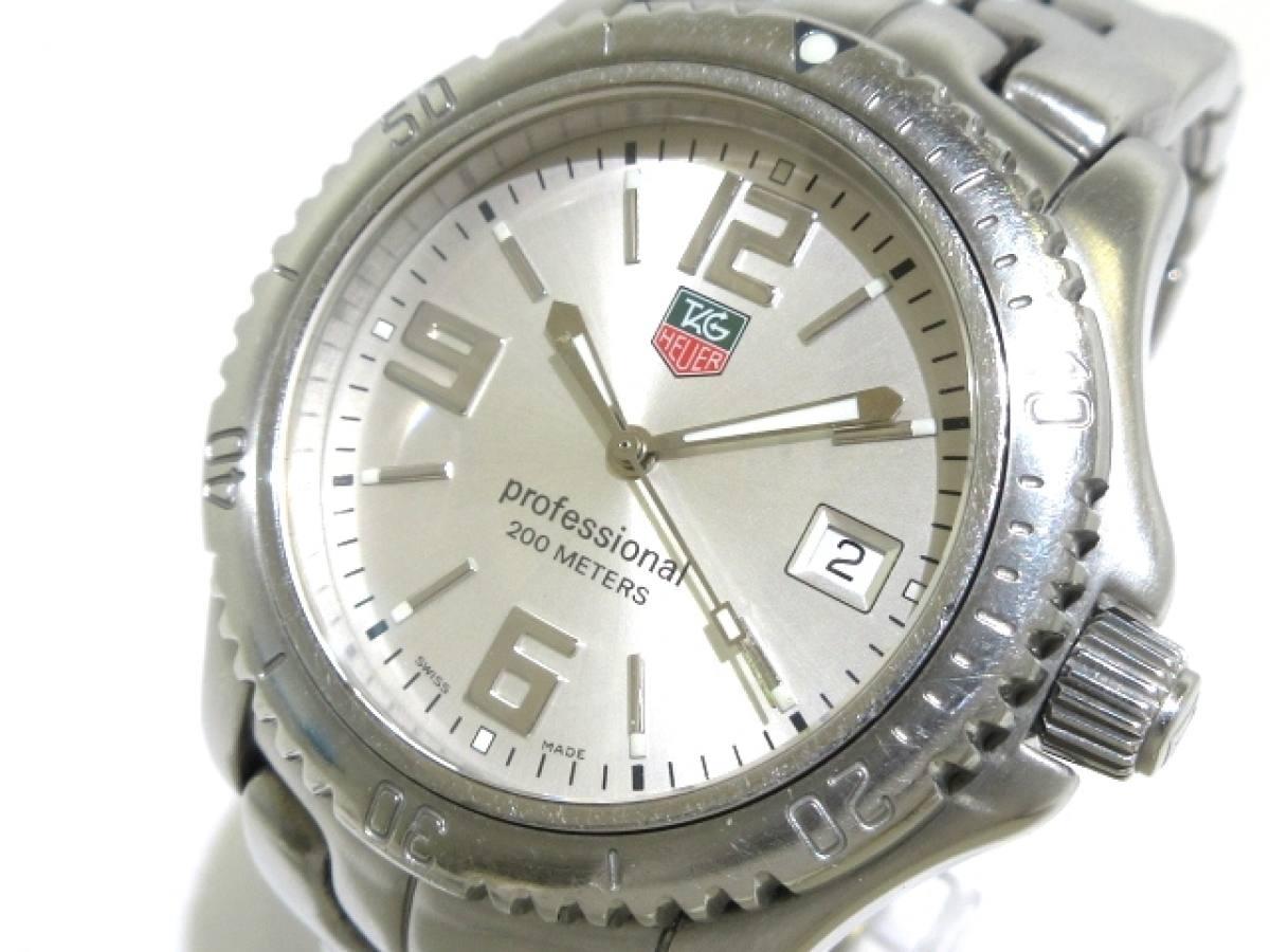 TAG Heuer(タグホイヤー) 腕時計 プロフェッショナル200 WT1112 メンズ シルバー【中古】